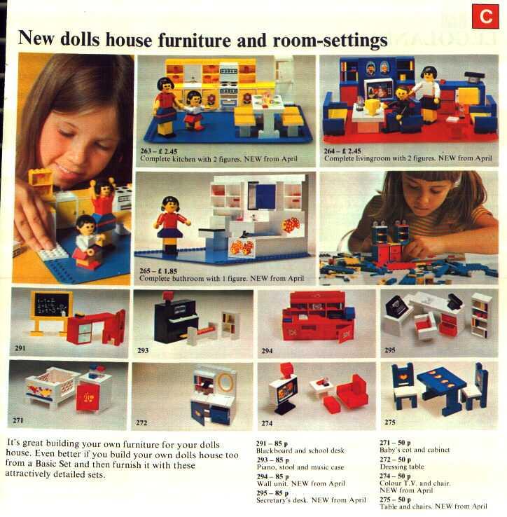 Lego catalogue - 1974 - page 7