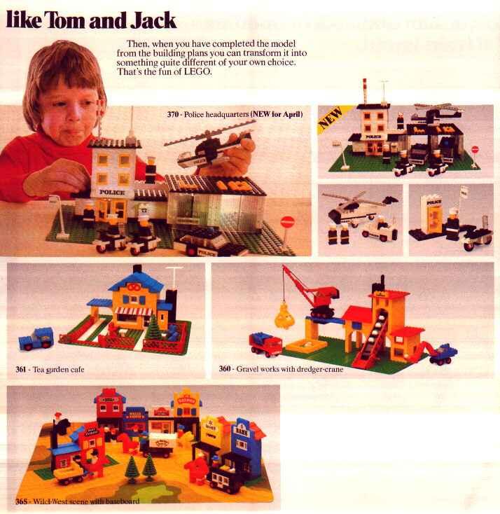 Lego catalogue - 1976 - page 7