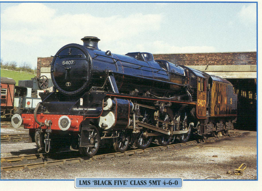 LMS 'Black 5' Class 5MT 4-6-0