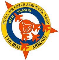 Patrouilles acrobatiques du monde Ra40logo