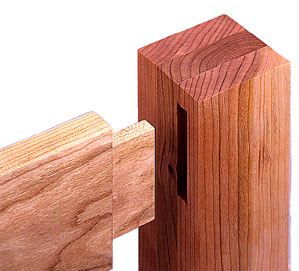 Craft Experience - Mortise and Tenon Page