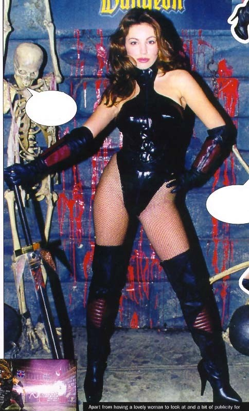 Kelly Brook Actress Kelly Brook Deathtrap Dungeon