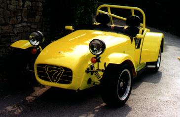 Yellow HPC Caterham 7.....