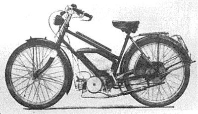 1939 Dayton autocycle