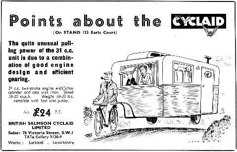 Cyclaid advert