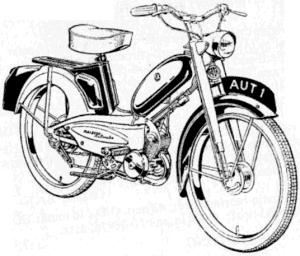 NORMAN NIPPY el ciclomotor Arc0417c