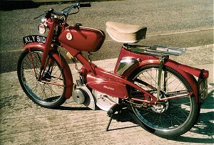 Raleigh mopeds—a spotter's guide