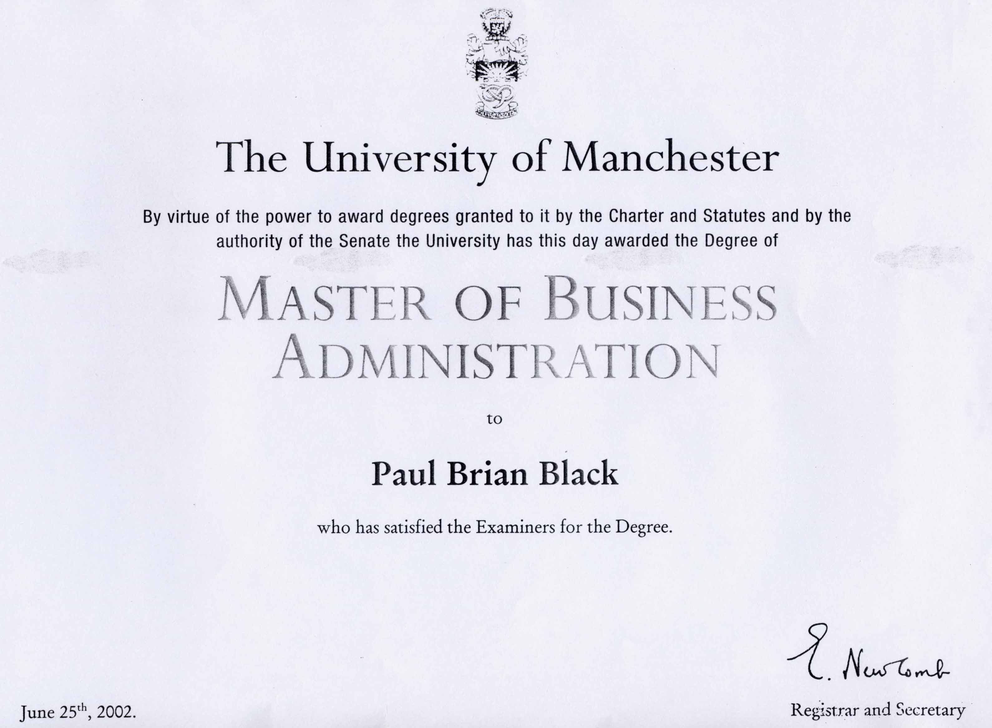 paul black >chartered shipbroker fics distinctions and awards in professional examinations