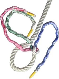 how to make an eye splice in three-strand manila rope